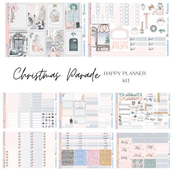 Christmas Parade Happy Planner Classic