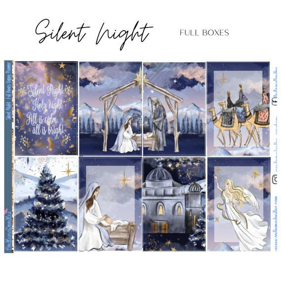 Silent Night Happy Planner Classic