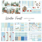 Winter Forest - Happy Planner Classic