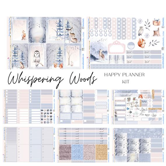 Whispering Woods Happy Planner Classic