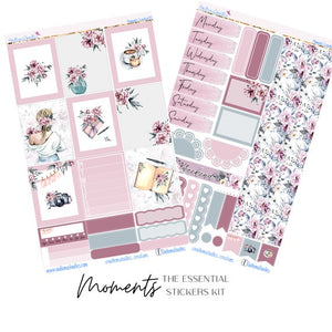 Moments Essential Planner Sticker Kit