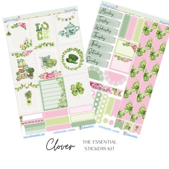 Clover Essential Planner Sticker Kit