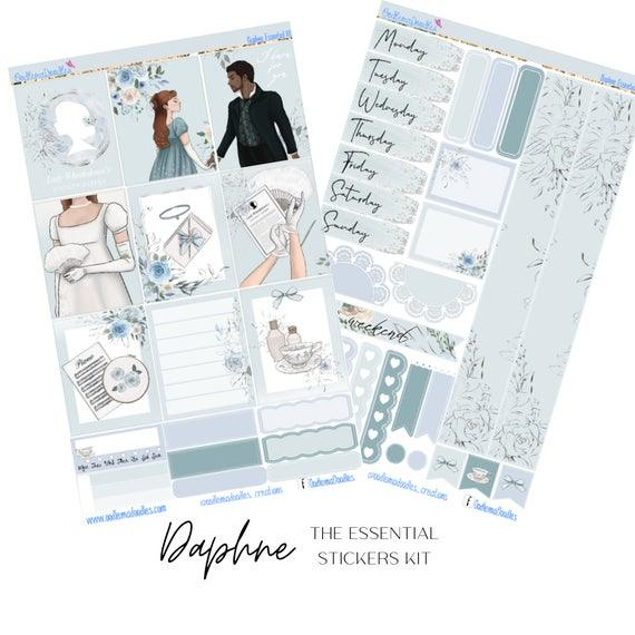 Daphne Essential Planner Sticker Kit