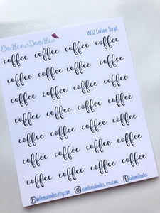 Coffee Script Stickers