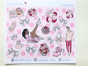 PJ Party: Decorative Stickers