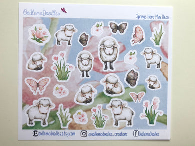 Springs Here! : Decorative Stickers