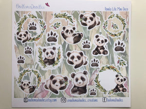 Panda Life : Decorative Stickers