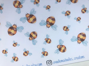 Busy Bee Decorative Stickers
