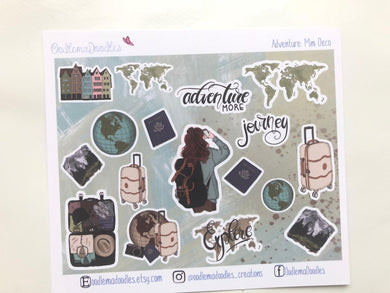 Adventure : Decorative Stickers