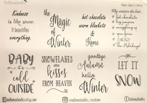 winter quotes oodlemadoodles