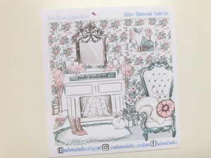 Winter Wonderland :Decorative Double Box Sticket