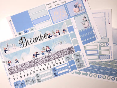 December Monthly View for Erin Condren