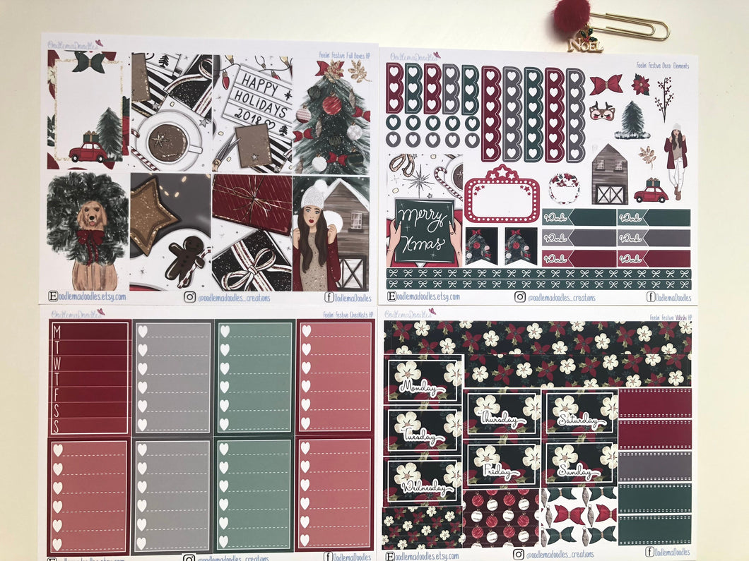 Feelin' Festive Happy Planner Classic Weekly Kit