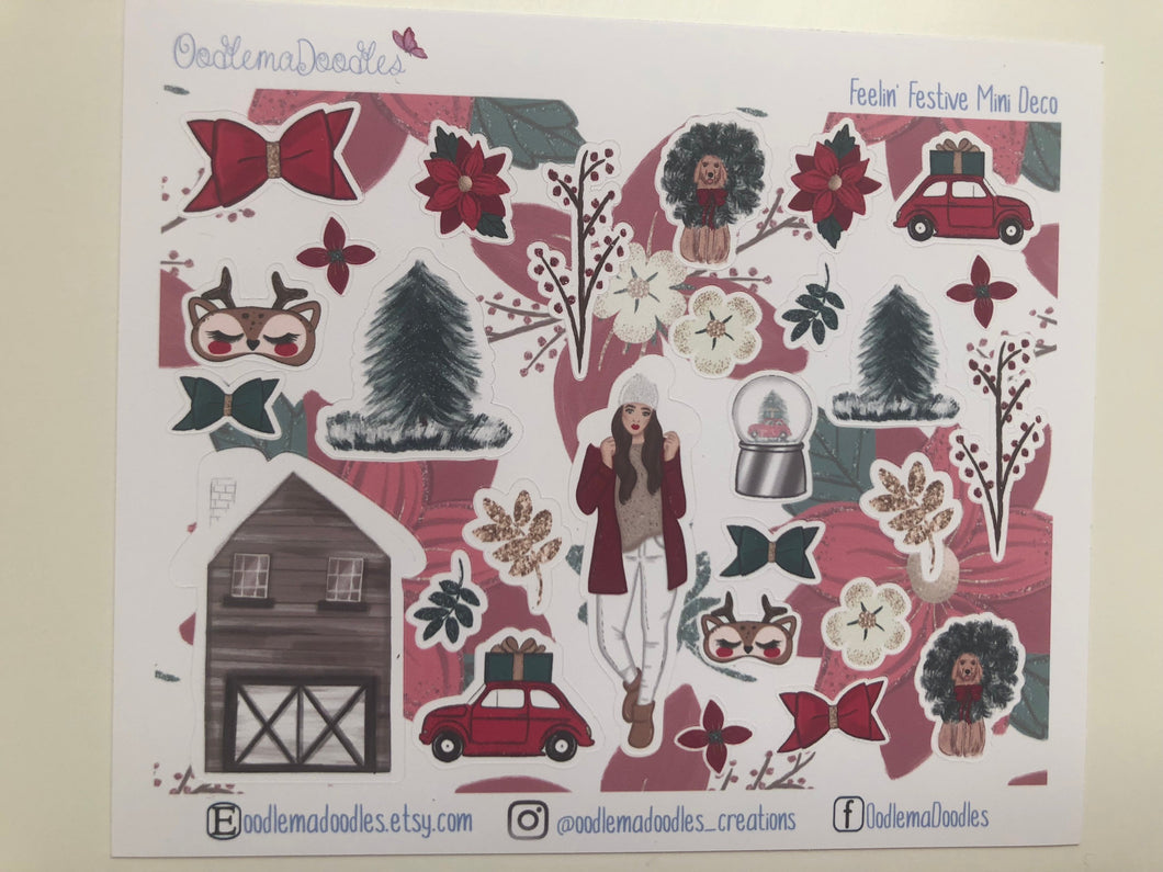 Feelin' Festive : Decorative Stickers