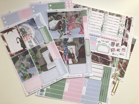 Whoville BIG Happy Planner Sticker Kit