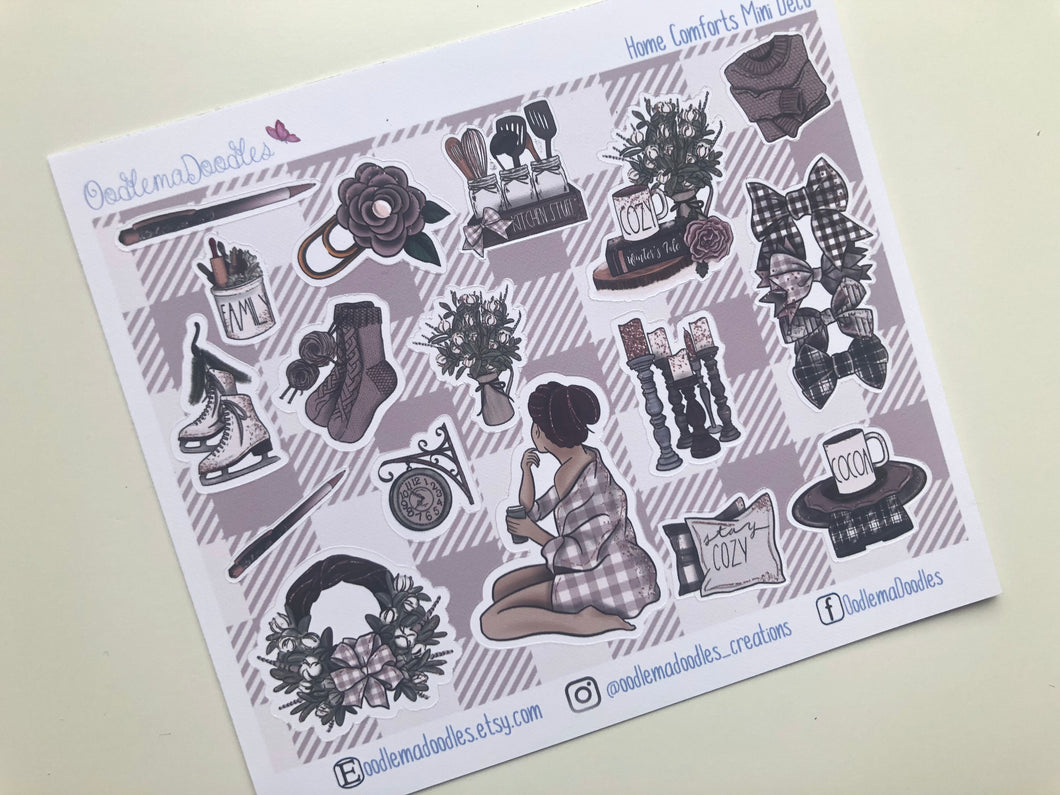 Home Comforts - Decorative Stickers