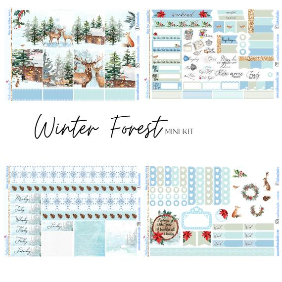 Winter Forest - Mini Kit