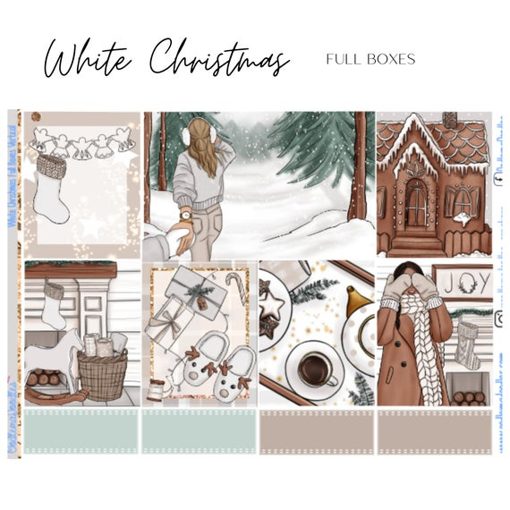 White Christmas Vertical Weekly