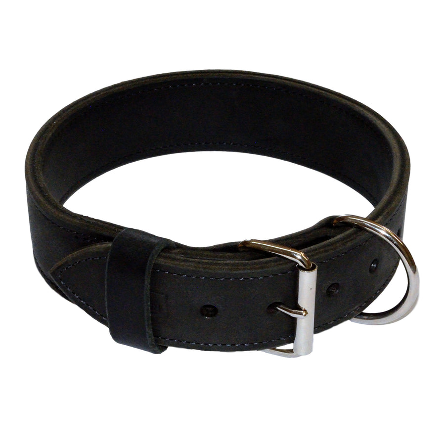 Heavy Duty Double Leather Collar - 2