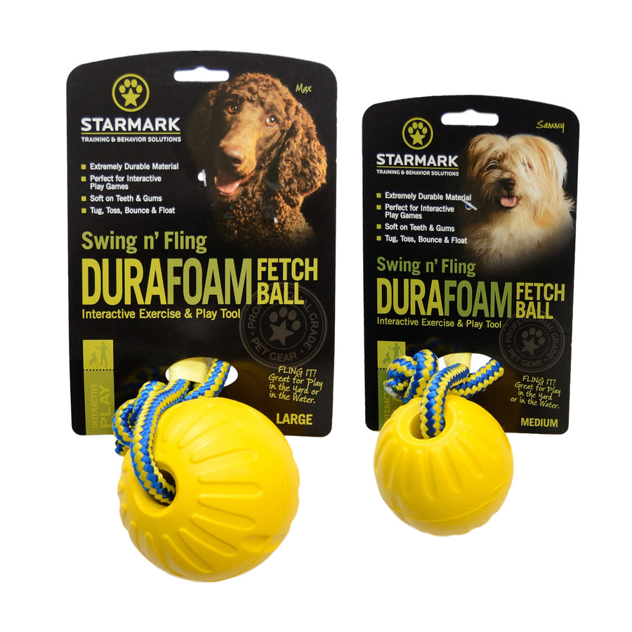 Swing n' Fling Durafoam Fetch Ball