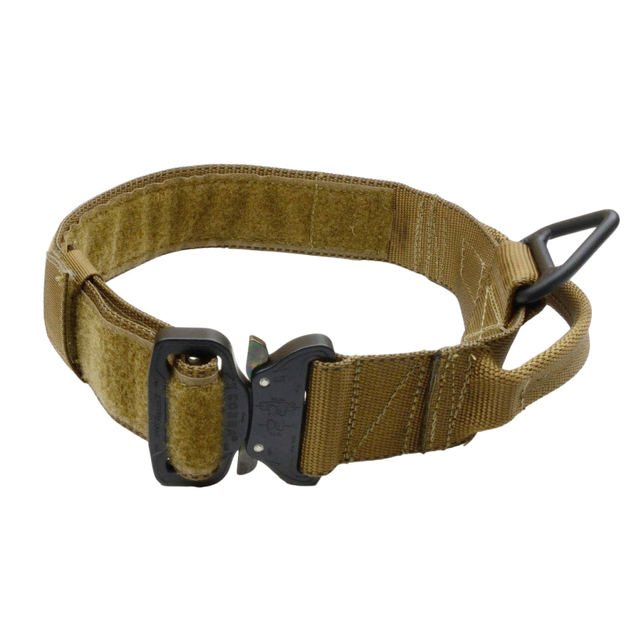 MaxTac Service ID Collar With Cobra Buckle - Coyote Brown