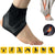 Sports Ankle Support Socks Breathable Compression Anti Sprain Heel Cover Socks