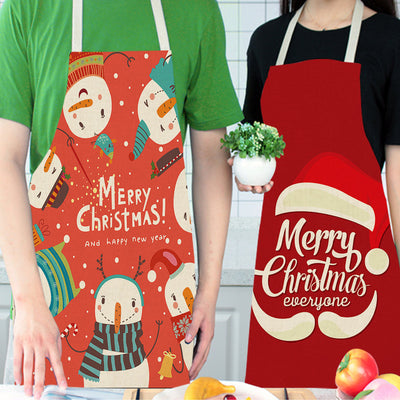 Christmas day apron