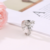 "100 Languages ""I LOVE YOU"" 2 in 1 Crown Ring"