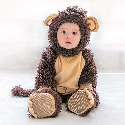 Baby Halloween Animal Jumpsuit