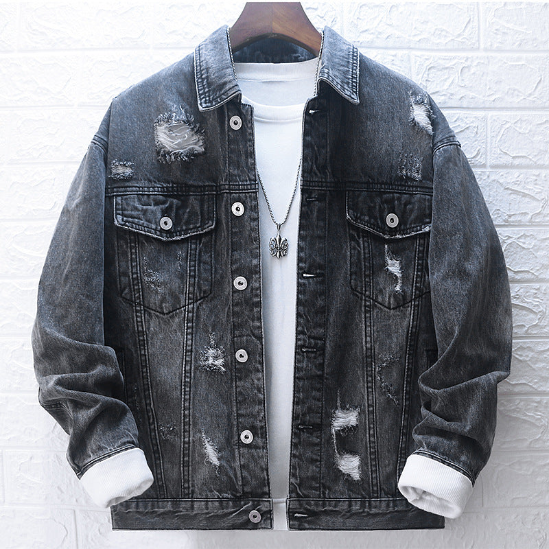 Male denim jacket