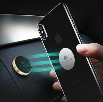 Magnetic Car Phone Holder For iPhone X Samsung Xiaomi Magnet Holder For Phone in Car Mobile Cell Phone Car Holder Stand