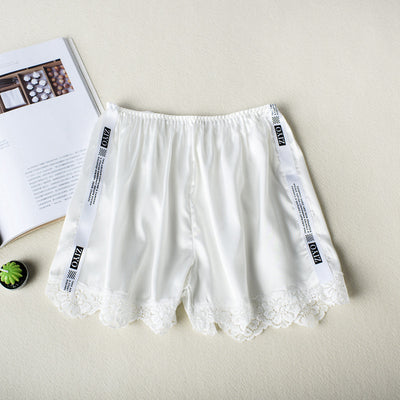 Side white strip ladies anti-light safety pants
