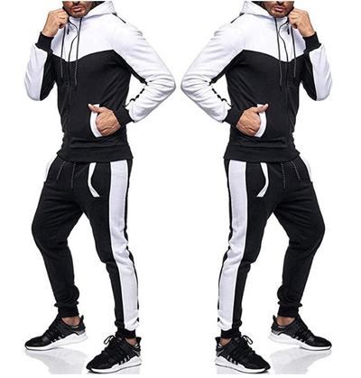 Hooded sports fitness zipper cardigan