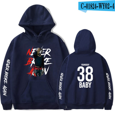 Men's and women's casual hooded sweater
