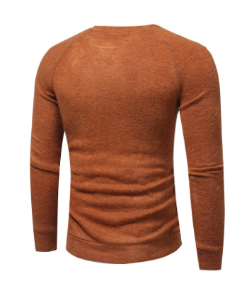 Men Button Splicing Sweater