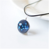 Luminous 12 constellation necklace female