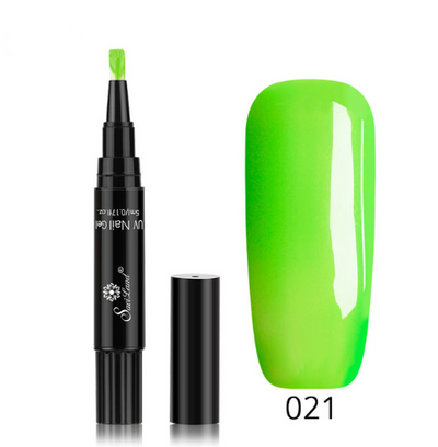 3 in 1 Nail Gel Nail Varnish Pen