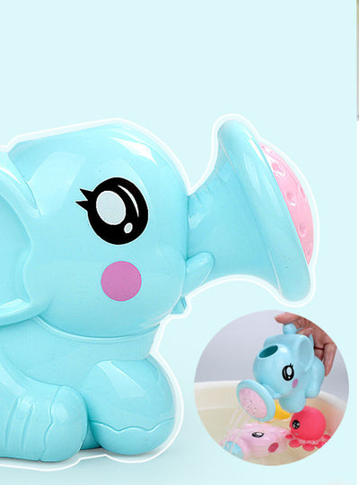 Baby bathing water toys elephant shower parent-child interactive toys