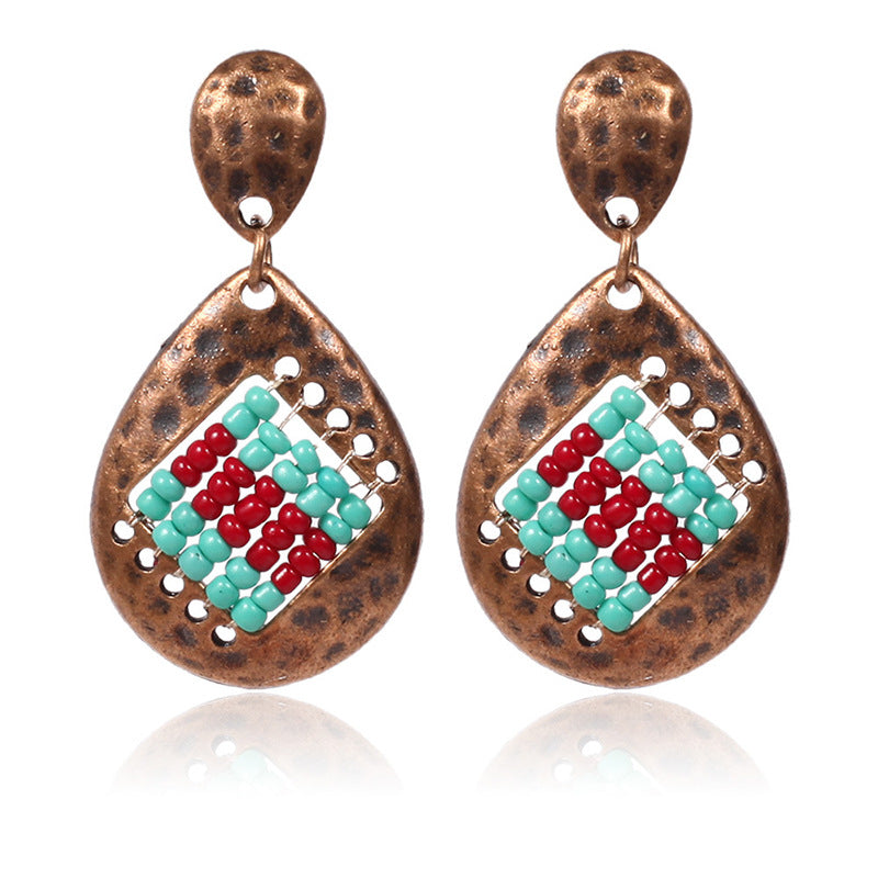 Popular alloy earrings