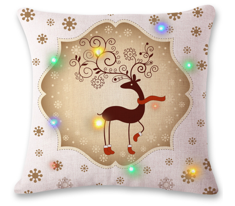 Magic LED Christmas Pillowcase