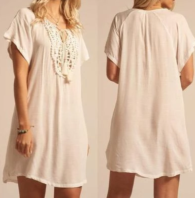 Gini blouse dress