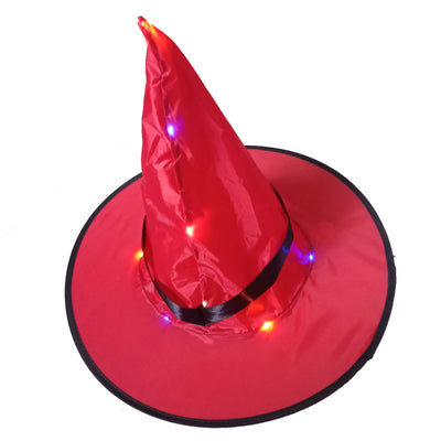 Halloween glowing witch hat