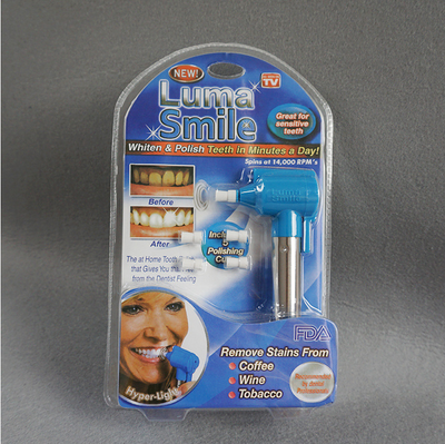 Teeth Whitening Machine LUMA SMILE Teeth Whitening TV Teeth Cleaner
