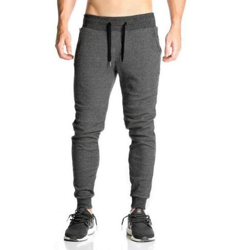 2020 Newest Mens Sweatpants Autumn Winter Man Gyms Fitness Bodybuilding Joggers workout trousers Male Casual cotton Pencil Pants
