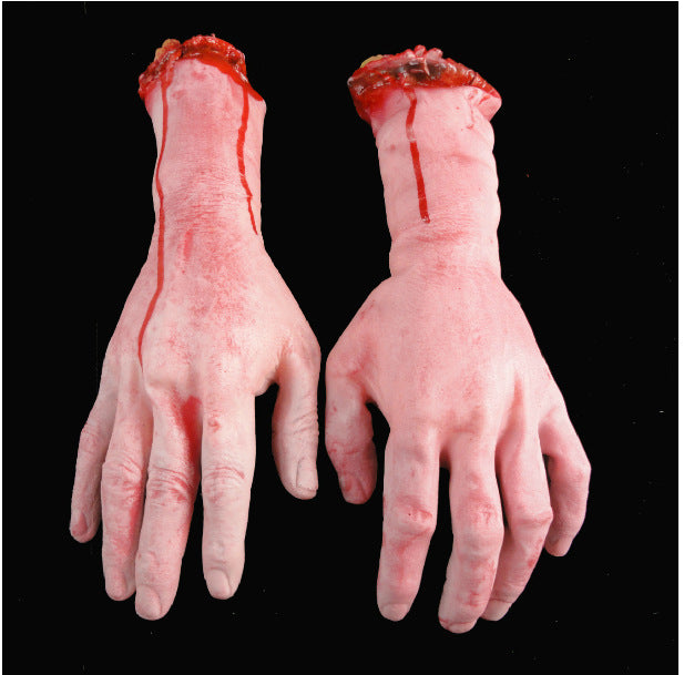 Halloween props, ghost supplies, April Fools' Day props, whole-person toys, horror blood