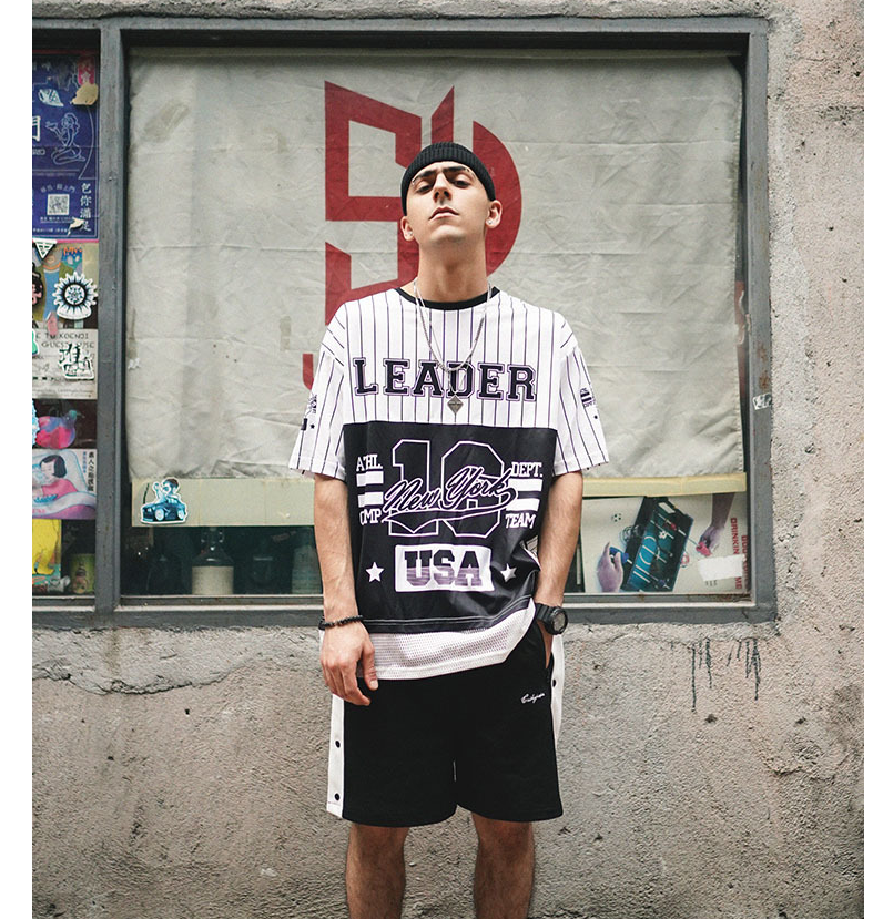 TKPA Summer New Letter-Number Simple, Euramerican Street Hip-hop Loose Men''s and Women''s Short-sleeved T-shirts
