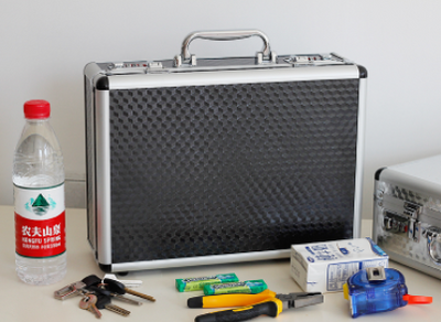 Metal multifunctional storage box