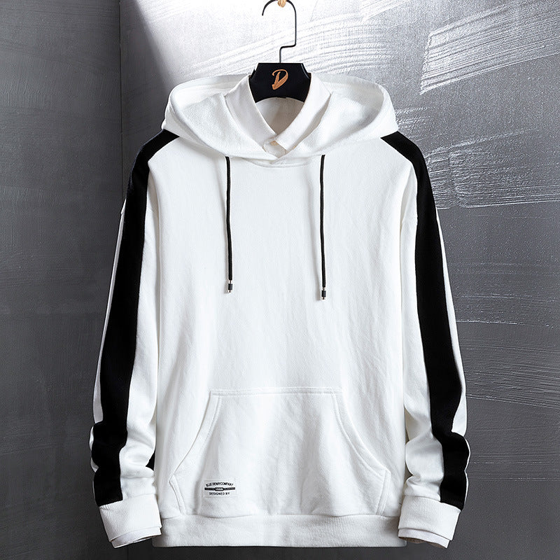 Men's sweater hooded jacket