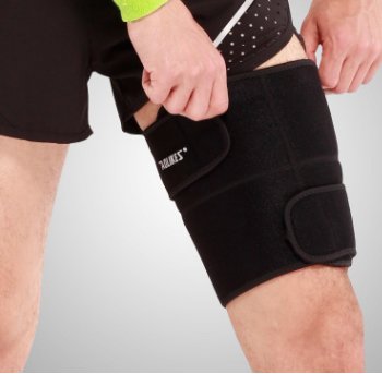 Sports, thigh, outdoor climbing, running, basketball, football protective gear, muscle pulling and protecting leg.