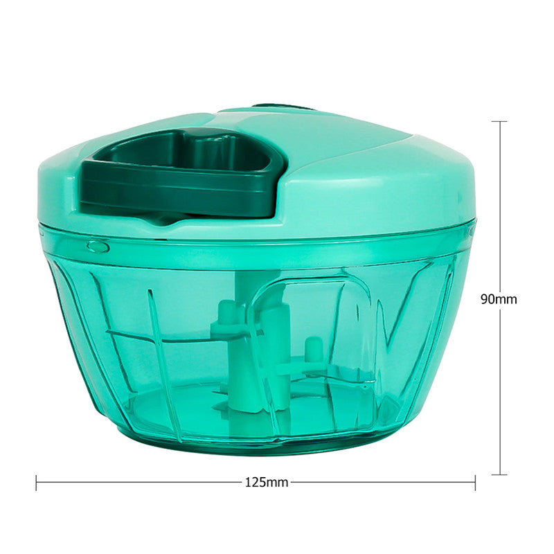 Multifunction High Speedy Chopper Design Garlic Cutter Vegetable Fruit Twist Shredder Manual Meat Grinder Kitchen Tools